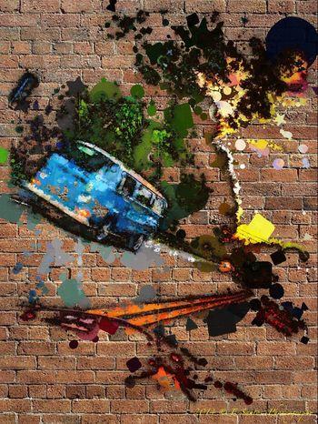 Urban Escape www.oilsoncanvabysantos.weebly.com
