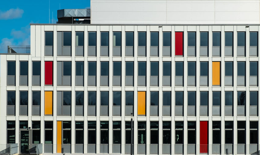 Pattern No People Repetition Architecture Built Structure Building Exterior Day Building City Side By Side Multi Colored Outdoors Office Building Exterior