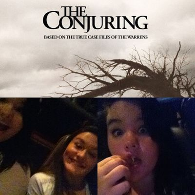The conjuring was a good movie!? Conjuring Goodmovie MOVIE Theconjuring  ahh scary @cheyenneupleger @hunterupleger96