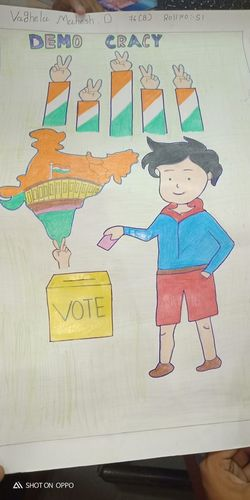 Sweet Click Cute Baby Election Election Day Electionyear Election Campaign Election Poster Election Result Elections Time Painting