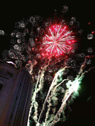 New Year Fireworks Countdown Life Night