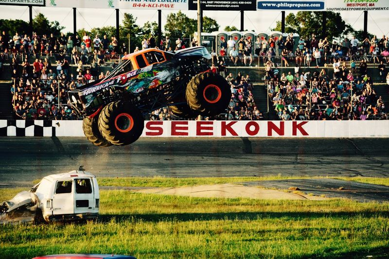 First Eyeem Photo Seekonk Seekonkspeedway Monster Trucks The Color Of Sport
