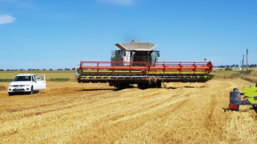 Agriculture Harvesting Field Agricultural Machinery