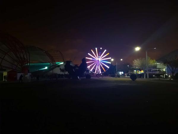Rueda de la Fortuna Matamoros Tamaultimas City Popular Music Concert Illuminated Nightlife Party - Social Event Cityscape Ferris Wheel Amusement Park Ride Nightclub Premiere