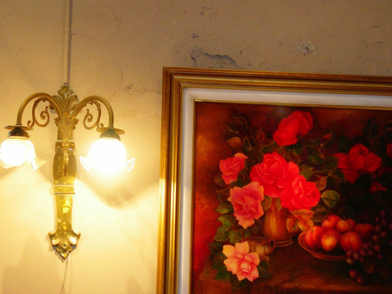 flower, flowering plant, indoors, no people, plant, illuminated, mirror, lighting equipment, window, vase, decoration, architecture, home interior, nature, wall, wall - building feature, reflection, built structure, electric lamp, house, light, flower arrangement, ceiling, floral pattern