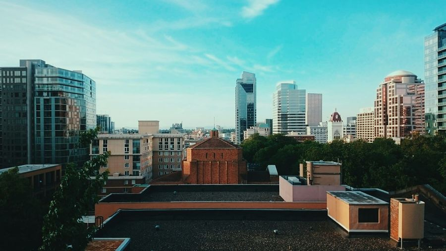 Rooftop Rooftop View  Cityscapes City Urban Geometry Urban Landscape Skyline Skyscrapers Portland Oregon Portland Downtown Portland  Architecture