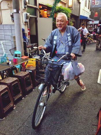 ママチャリ 三社祭 Tokyo