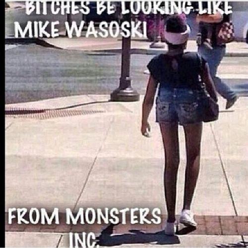 Lmao??? they wrong for this.. BitchesBeLike Mikewasoski Monstersinc Ctfu weak lmfao longlegs littlebody tagafriend tag4likes tag4tags like4likes hilarious tweegram instafunny dead weak