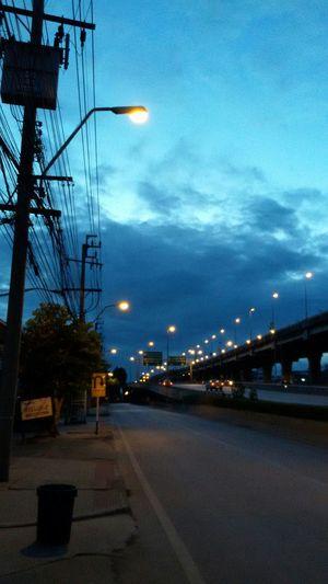 Blue sky, clound&sky, Saturday morning, Open Edit. Eyeem Gallery Taking Photos.