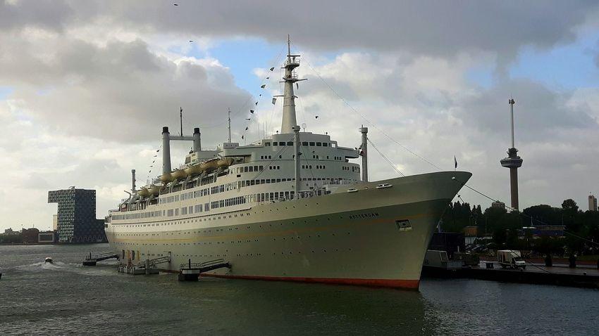 Holland American Lines SS Rotterdam Rotterdam Harbor Cruise Ship