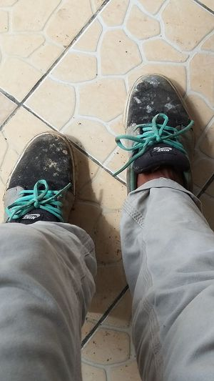 My Shoes From Mountain..!