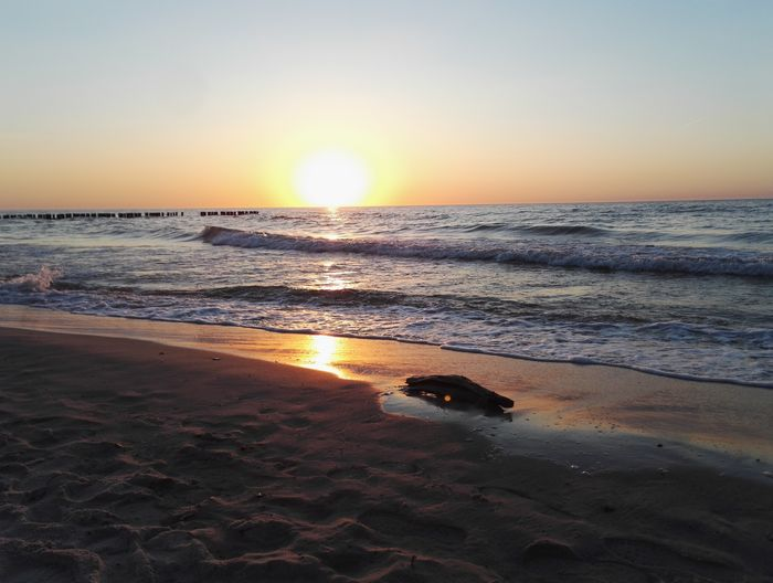 Landscape Mielno Plaża Sea
