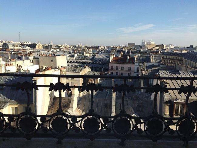 Parisian rooftop Paris Roof Rooftop Sky City Paris Je T Aime France Galeries Lafayette