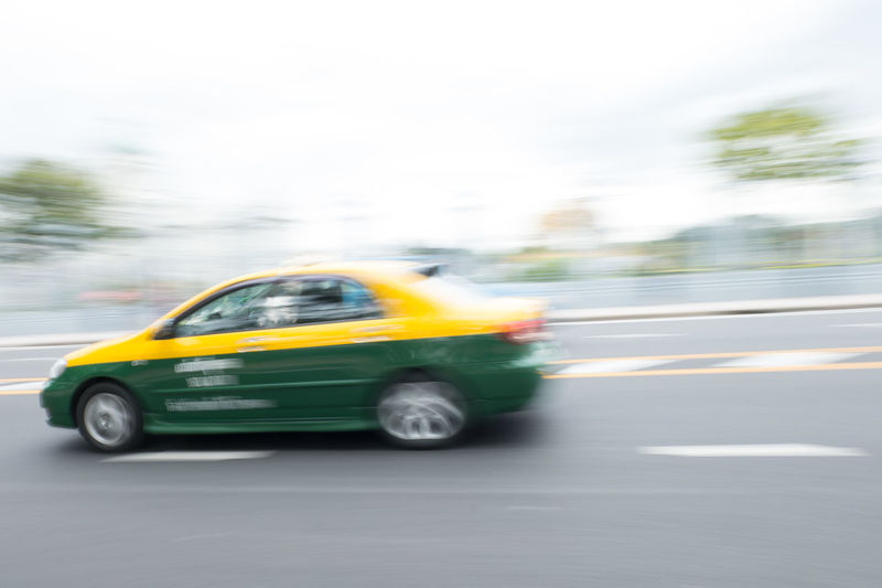 car with motion blur Bangkok Day Fast Motion Motion Blur Motor Move Movement Outdoors Pan Pan Photography Road Sky Slow Shutter Slow Shutter Speed Street Thailand Traffic Travel