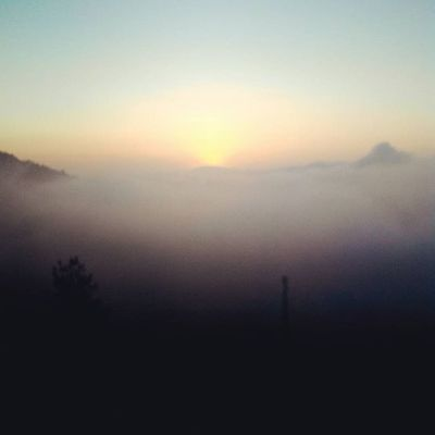 here come the sunrise Sunrise Travelingindonesia Mountain Hike INDONESIA Galunggung Travel Trip Youth Escape
