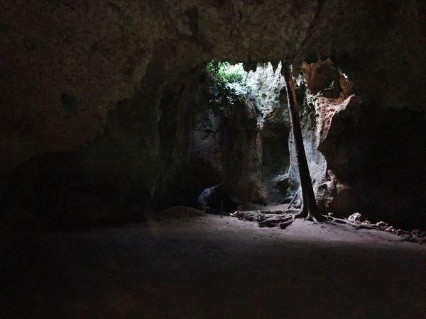Slave Jail Natural Beauty Cave Wasini Island Shimoni Island Kenia Slavecave