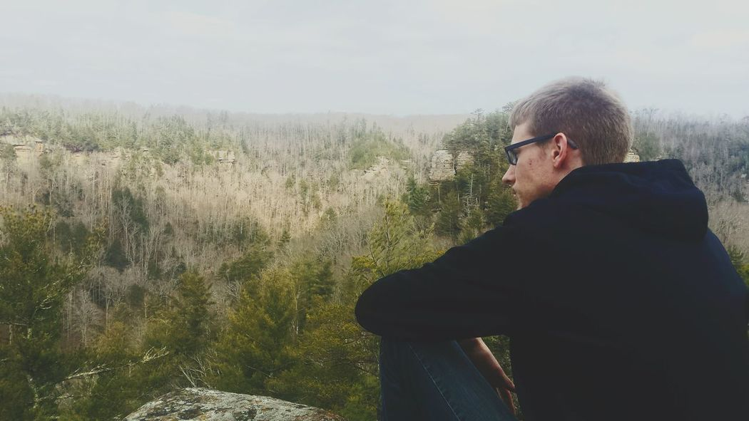 Red river gorge Redrivergorge Amazing Landscapes Contemplative Feelingsmall Trees And Sky Overlook