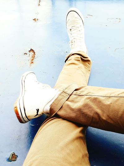 The Week On EyeEm Human Body Part One Person Snickers Puma Shoes