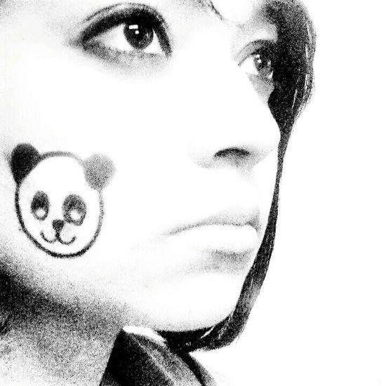 Blackandwhite Black & White Black&white PANDA ♡♡ Pandas♥ Me That's Me Hi! Eyes Love ♥