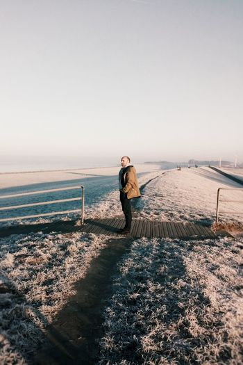Deich  Küste Nordseeküste Weddewarden Portrait Winter Landscape Frosty Vscocam VSCO Home EyeEm Nature Lover Light And Shadow