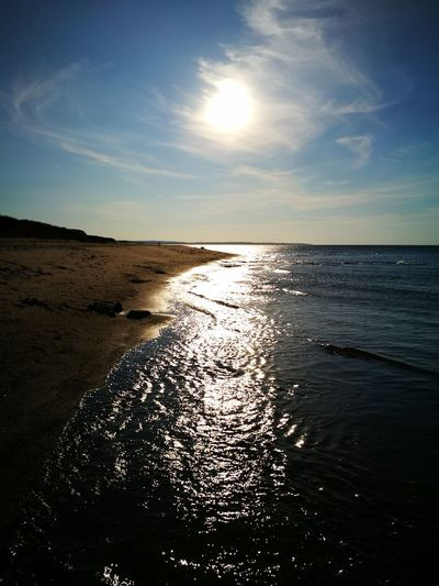 first of many tomorrows.. Cavendish Prince Edward Island Ocean Sunset_collection Travel Destinations Travel Destinations Skyline Leicagraphy Leicaexplorer HuaweiP9 Sea Beach Sand Nature Horizon Over Water Sunset Sky Waterfront Idyllic No People