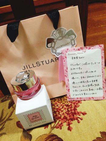 クッキーあげただけなのにJILLのリップ頂いちゃった(´._.`) すっごく申し訳ないけどすっごく嬉しい …* Jillstuart Teacher Thank You