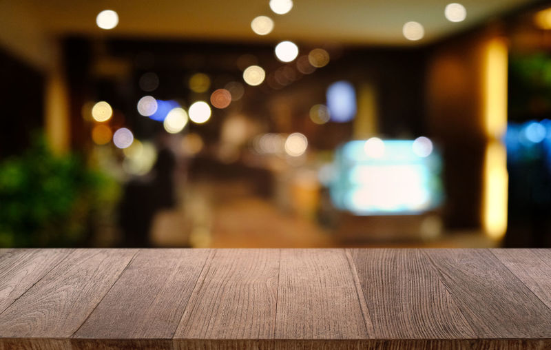 Top Background Wooden Empty Display Table Wood Design Interior Desk Product Dark Space Kitchen Room Bokeh Abstract Old Texture Cafe Surface Wall Backdrop Vintage Blur Retro Restaurant Coffee Tabletop Counter Board Black Blurred Plank Template Shop Night Light Advertise Place Decoration Blank Brown Food Rustic Montage Perspective Business Modern Bar Illuminated Wood - Material Focus On Foreground Seat No People Architecture Outdoors Lighting Equipment Bench Light - Natural Phenomenon Glowing Close-up Railing City Pattern