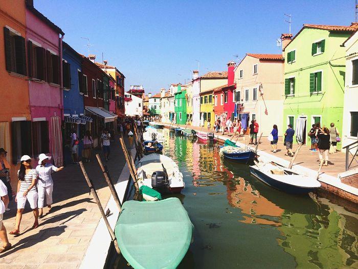 Venice Burano Colors