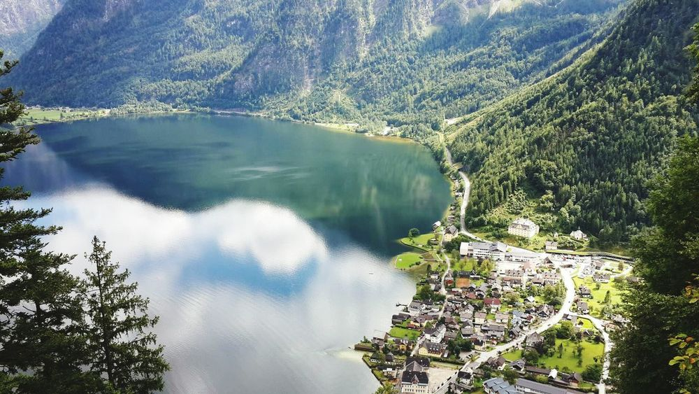 The Following Austria Lake Sea And Sky Sky Sea Sea View Attersee Mauntains Travel Photography Traveling Trres View