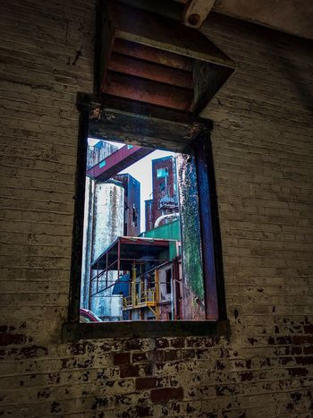 Window Indoors  Architecture No People Buffalo, NY Abandoned Places Abandoned Inside Looking Out Silo City