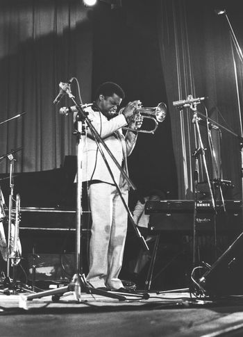 Freddie Hubbard (1938-2008) Ciak Milano, 1979/11/05 Trumpet Player Musician Music Performance Full Length Playing Stage - Performance Space Arts Culture And Entertainment People Performing Arts Event One Person Indoors  Microphone Adult Standing Skill  Portrait Jazz Concert Music Festival Bebop Ciak Only Men Young Adult Bass Instrument Milano Italy Black And White Friday