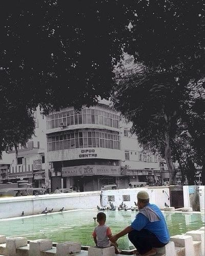 See that old building my child,someday i'll be like that old bulding.Old but Unbeaten! Musafir Old Buildings Future First Eyeem Photo