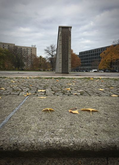 Architecture Built Structure Sky Cloud - Sky Building Exterior No People Day City Memorial Outdoors The Past History Leaves Autumn Fall Berlin Building