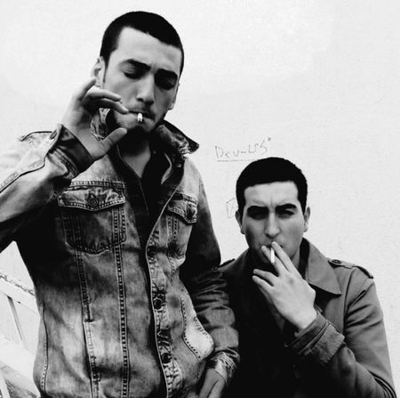 Negative Space Blackandwhite Jeans Pull&bear Cigarette
