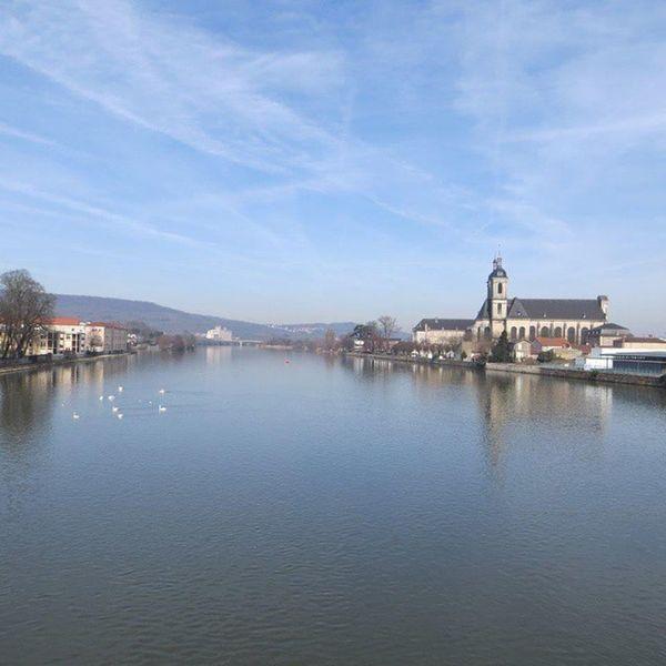 Balade du dimanche (2) Pont A Mousson Meurthe Et Moselle Lorraine No Filter Moselle Water Reflections