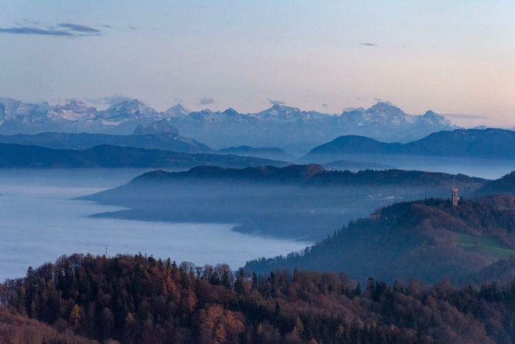 Swiss Alps on a