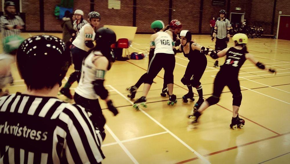 Rollerderby Darevalleyvixens Roller Girls Sinn Lizzie