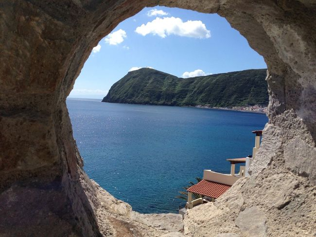 Architecture Beach Beauty In Nature Built Structure Capture The Moment Day Natural Arch Nature No People Outdoors Scenics Sea Sky Water Isoleeolie Isole Eolie Lipari Island Lipari Aeolian Islands Been There.
