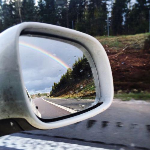 Rainbow🌈 Rainbowsky InTheCar:) Greatview Likedreams