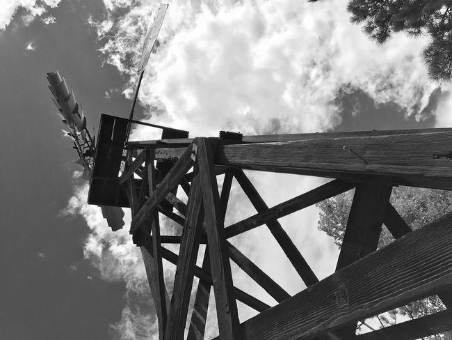 Sky high Blackandwhite Photography windmills iphone