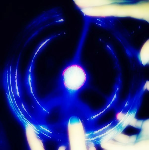 Blue Futuristic Technology Close-up Dream Memories Together Sister&brother Sphere Sphere Lamp Electrostatic Spheres