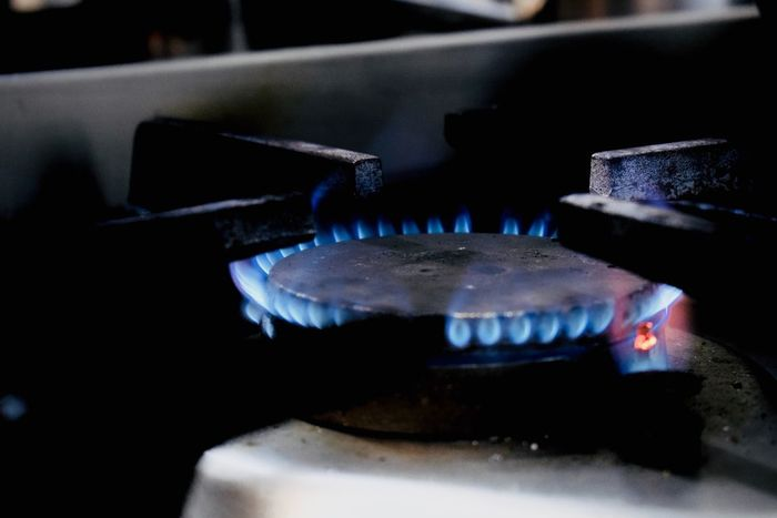 Kitchen Fire Burning Fire - Natural Phenomenon Flame Stove Heat - Temperature Appliance Kitchen Close-up Indoors  Natural Gas Burner - Stove Top No People