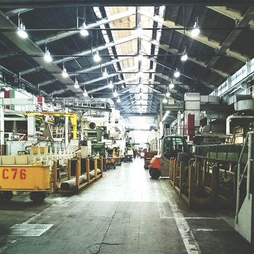 Industry Industrial Production Productivity Behindthescenes