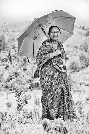 Grandmas♥ Umbrella Only Women Happiness Adults Only Cheerful Smiling Weather Portrait One Person People Holding Outdoors Looking At Camera Women Day Adult One Woman Only Protection EyeEm Best Shots India Saree Outdoorphotography Monochrome Blackandwhite Contrast The Portraitist - 2017 EyeEm Awards EyeEmNewHere Investing In Quality Of Life