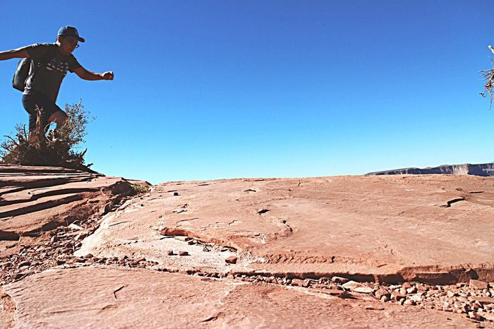 Hi! Hello World Grand Canyon West Rim