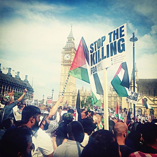 What Does Peace Look Like To You? Freegaza March in London