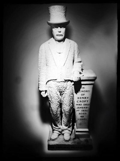The original Pearly King.. Blackandwhite London IPhoneography St Martin-in-the-fields