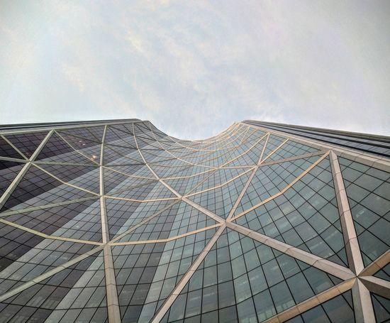 Architecture Outdoors Building Sky Scraper YYC Calgary Sky