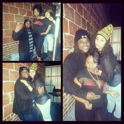 Had a fun night with these two beautiful young ladies!!! Aposha TroyU Nightlife