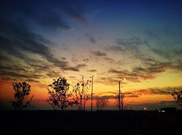入夜。最美 Sunset